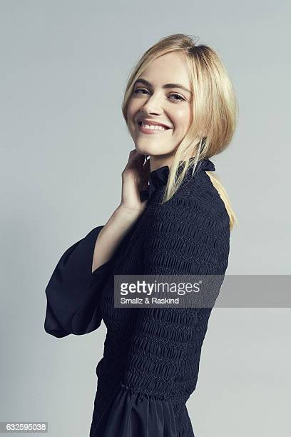 Emily Wickersham poses for a portrait at the 2017 People's Choice Awards at the Microsoft Theater on January 18 2017 in Los Angeles California
