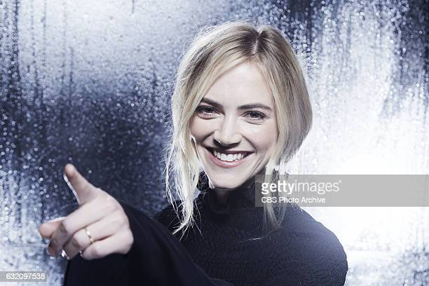 Emily Wickersham visits the CBS Photo Booth during the PEOPLE'S CHOICE AWARDS the only major awards show where fans determine the nominees and...
