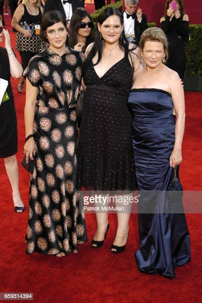 Emily Wiest Lily Wiest and Diane Wiest attend 61st Annual Primetime Emmy Awards Arrivals at Nokia Theatre LA Live on September 20 2009 in Los Angeles...
