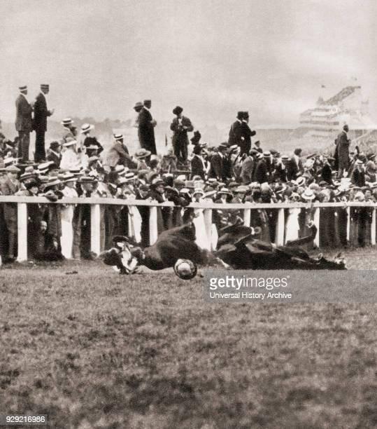 Emily Wilding Davison 1872 – 1913 Militant women's suffrage activist who threw herself under the King's horse Anmer during the Epsom Derby of 1913...