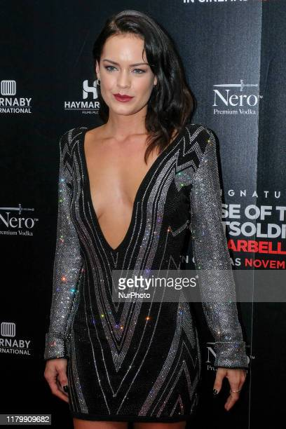 Emily Wyatt Attends the premiere of Rise of the Footsoldier 4 Marbella out in cinemas amp digital HD from Friday 8th November at the Troxy London UK...