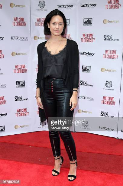 Emily Wyatt attends the UK premiere of 'Welcome To Curiosity' at Prince Charles Cinema on June 4 2018 in London England