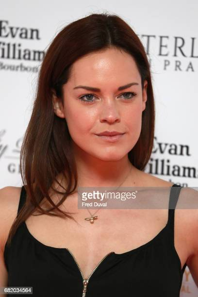 Emily Wyatt attends the World Premiere of Interlude In Prague at Odeon Leicester Square on May 11 2017 in London England