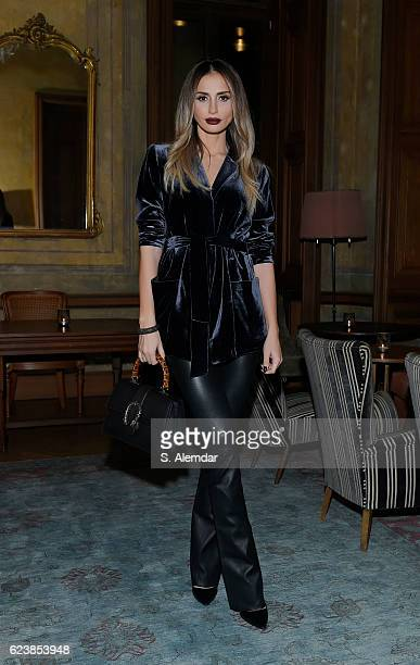 Emina Sandal attends the screening of 'Past Forward' a movie by David O Russell presented by Prada on November 16 2016 in Istanbul Turkey
