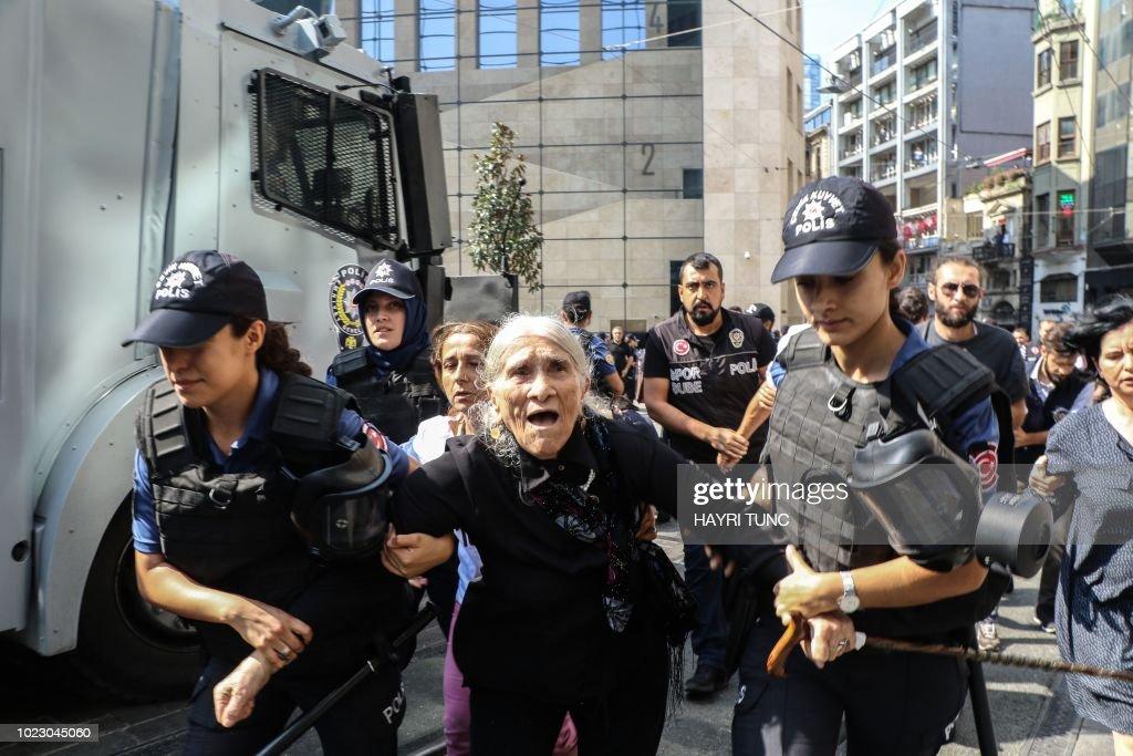 TURKEY-POLITICS-DEMO : News Photo