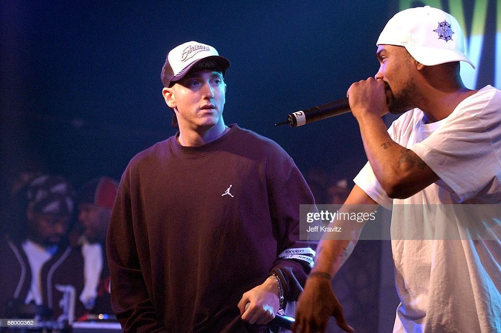 Universal 8 Mile DVD Release Party : News Photo