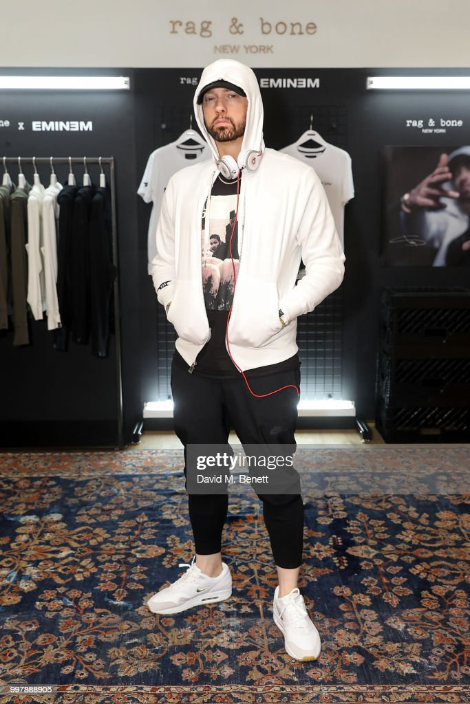 Rag & Bone X Eminem London Pop-Up Opening