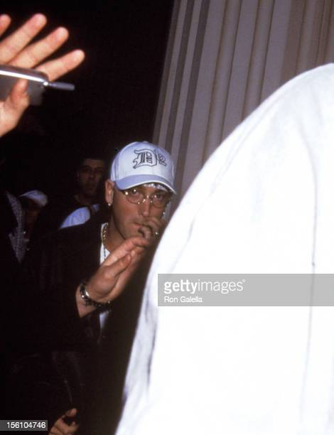 Eminem during 'The Adventures of Joe Dirt' Premiere at AVCO Cinema in Westwood California United States