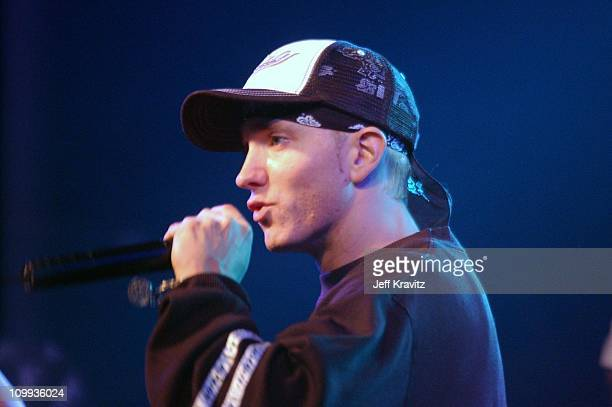 Eminem during Universal 8 Mile DVD Release Party at Saint Andrew's Hall in Detroit, MI, United States.
