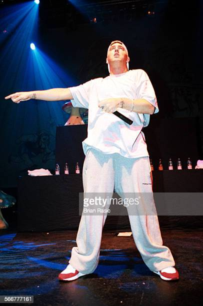 Eminem In Concert At The Astoria Charing Cross Road London Britain Nov 1999 Eminem