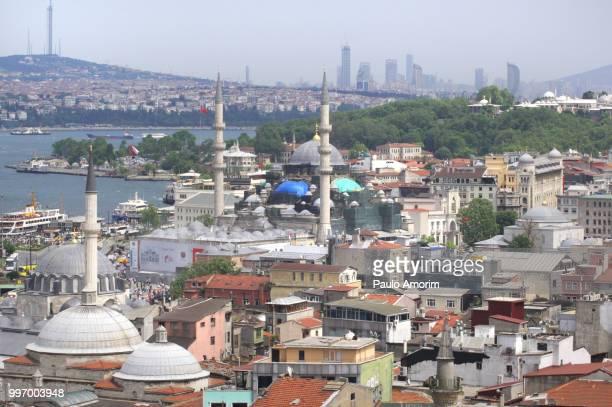 Eminonu District of Istanbul in Turkey