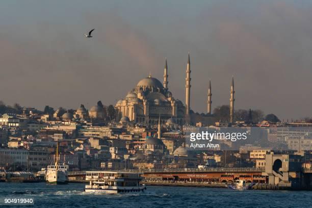 Eminonu district of Istanbul,Turkey