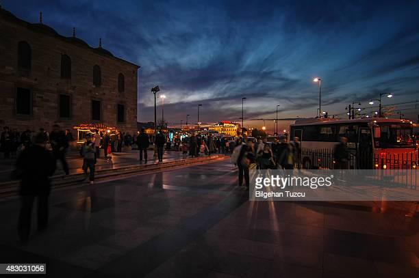 Eminonu Street et de personnes