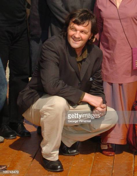 Emir Kusturica, President of Feature Films Jury during 2005 Cannes Film Festival - Jury Photocall at International Pavilion in Cannes, France.
