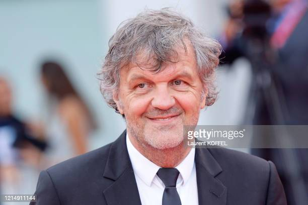 Emir Kusturica walks the red carpet ahead of the closing ceremony of the 76th Venice Film Festival at Sala Grande on September 07 2019 in Venice Italy