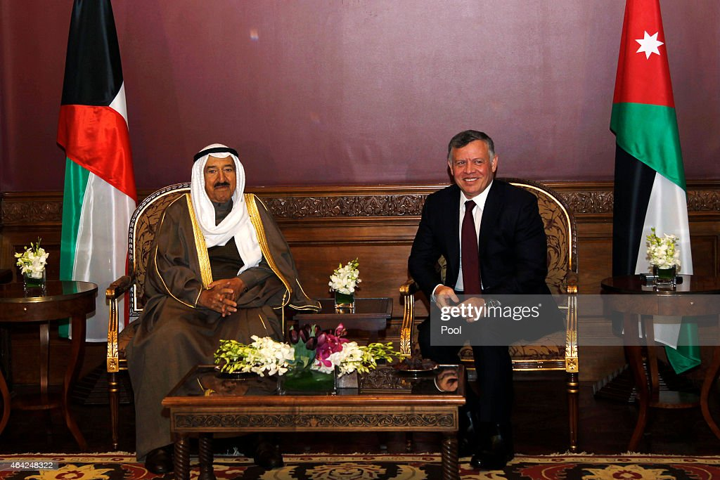 The Emir Of Kuwait Visits Jordan To Attend Talks With King Abdullah II