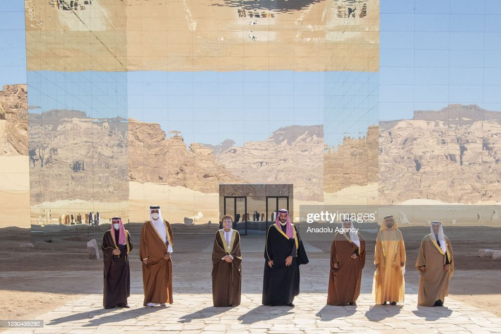 41st Summit of Gulf Cooperation Council in AlUla : News Photo