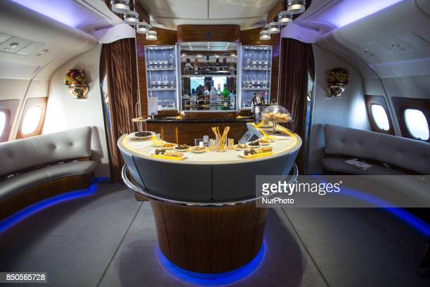 Emirates airline based in Dubai UAE is the largest operator of the Airbus A380800 They expect soon their 100th plane and have 45 more in order First...