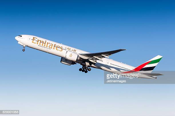 emirates airline - emirates airline stock photos and pictures