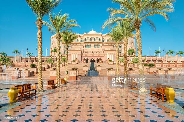 emirates palace abu dhabi uae - abu dhabi stock pictures, royalty-free photos & images