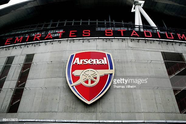 Emirates Stadium. Football Club Arsenal. London