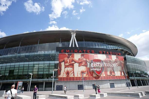 Emirates Stadium  in sunny day