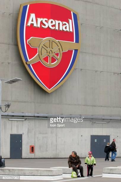 Emirates Stadium / Logo Arsenal Arsenal / Everton 37eme journee de Premier League
