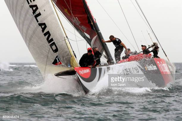 Emirates Team New Zealand - - Round Robin 2 - Louis Vuitton Cup - Valence,