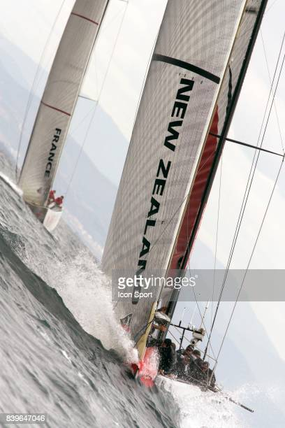 Emirates Team New Zealand / Areva Challenge - Round Robin 2 - Louis Vuitton Cup - 2007 -
