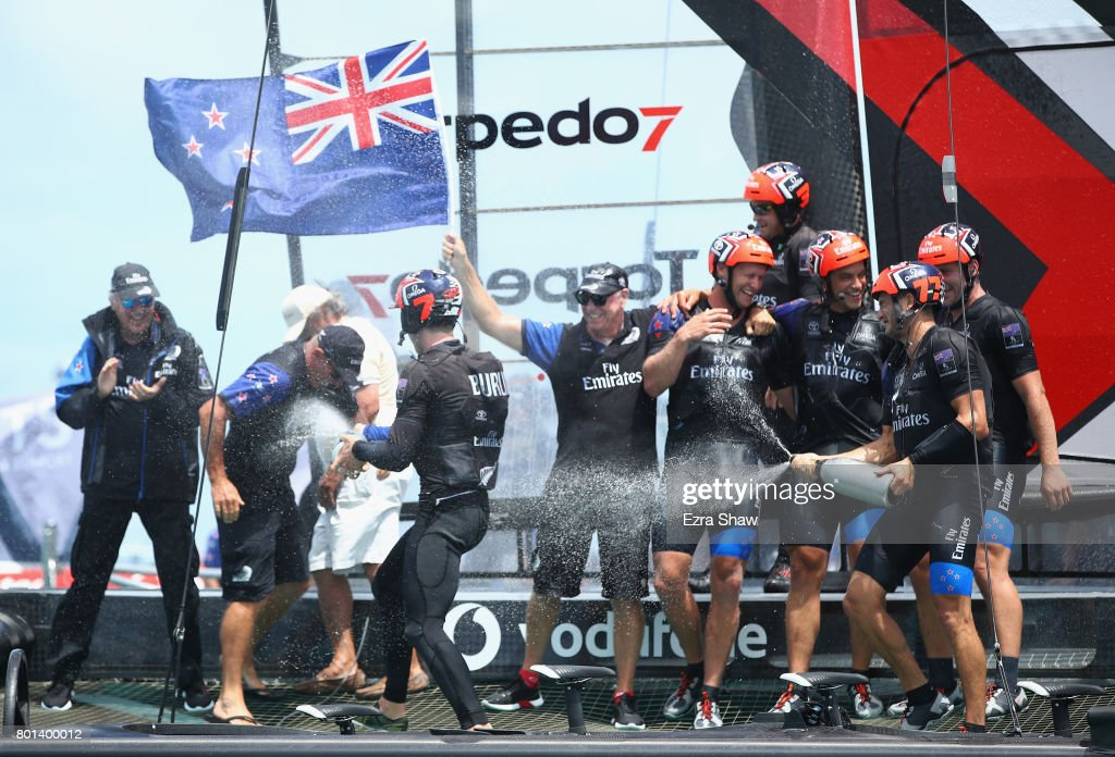 America's Cup Match Presented by Louis Vuitton - Day 5 : News Photo