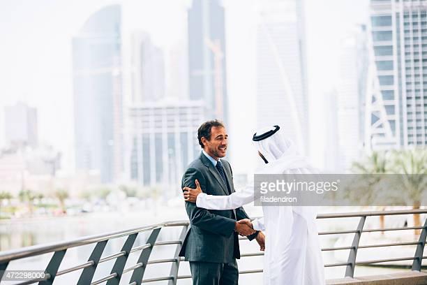 Emirati doing business