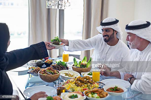 Emirati family lunch