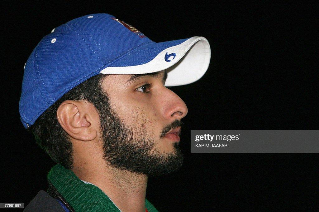 Emirati rider Sheikh Majid al-Maktoum, s : Nachrichtenfoto