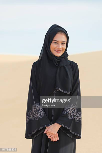 Emirati woman in abaya