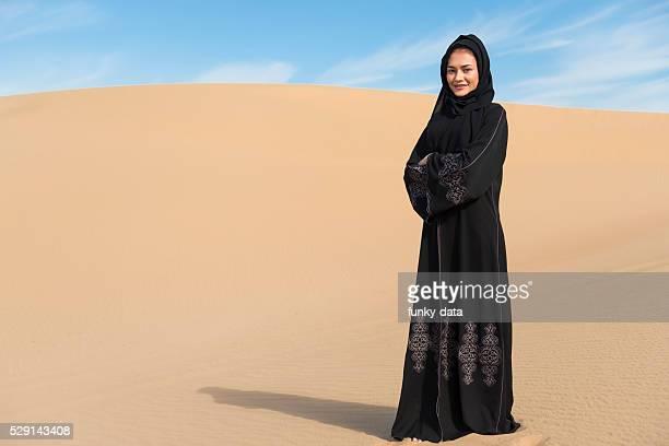 Emirati woman portrait