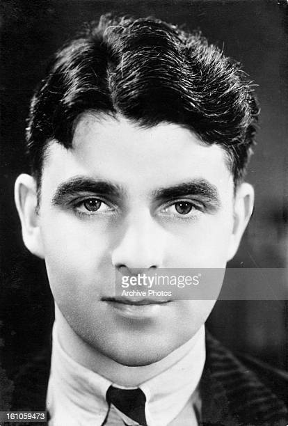 Emlyn Williams in publicity portrait for the film 'Criminal At Large' 1932