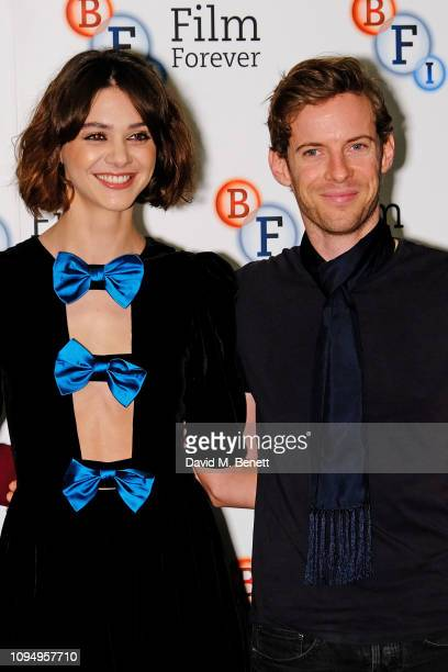 Emma Appleton and Luke Treadaway attend a photocall for new Channel 4 drama Traitors at the BFI Southbank on February 7 2019 in London England