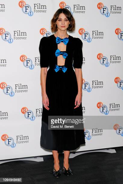 """Emma Appleton attends a photocall for new Channel 4 drama """"Traitors"""" at the BFI Southbank on February 7, 2019 in London, England."""
