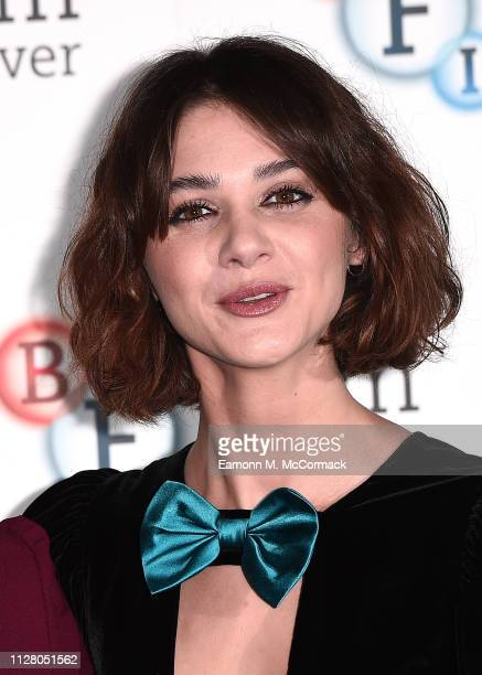 Emma Appleton attends a photocall for new Channel 4 drama TRAITORS held at BFI Southbank on February 07 2019 in London England