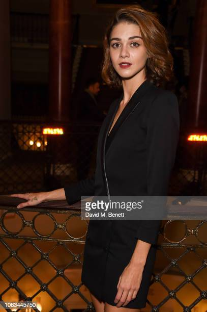 Emma Appleton attends The 64th Evening Standard Theatre Awards at the Theatre Royal Drury Lane on November 18 2018 in London England