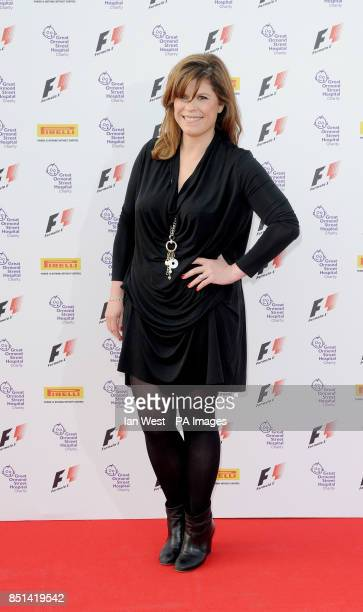 Emma B arriving at the F1 Party in aid of Great Ormond Street Hospital Children's charity at Old Billingsgate London PRESS ASSOCIATION Photo Picture...