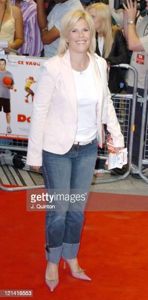 Emma B during 'Dodgeball' London Premiere Arrivals at Odeon Kensington in London Great Britain