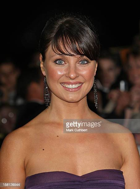 Emma Barton Arriving At The National Television Awards 2007 Royal Albert Hall London