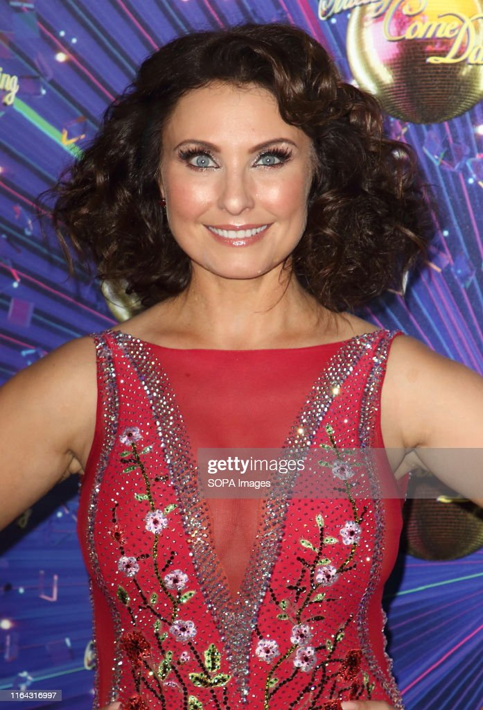 Emma Barton at the Strictly Come Dancing Launch at BBC... : News Photo