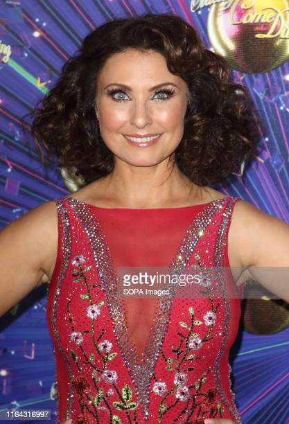 Emma Barton at the Strictly Come Dancing Launch at BBC Broadcasting House in London