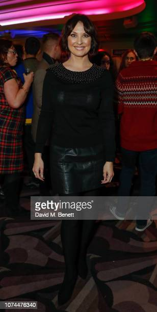Emma Barton attends press night performance of Nativity The Musical at The Eventim Apollo Hammersmith on December 20 2018 in London England