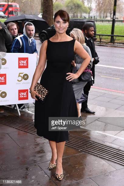 Emma Barton attends the 2019 'TRIC Awards' held at The Grosvenor House Hotel on March 12 2019 in London England