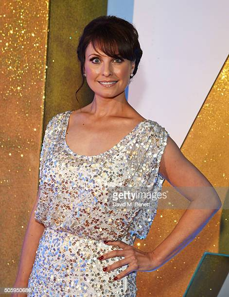Emma Barton attends the 21st National Television Awards at The O2 Arena on January 20 2016 in London England