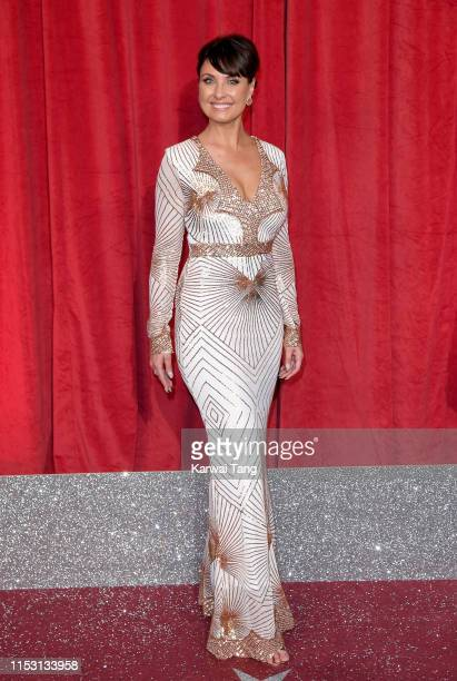 Emma Barton attends the British Soap Awards at The Lowry Theatre on June 01 2019 in Manchester England