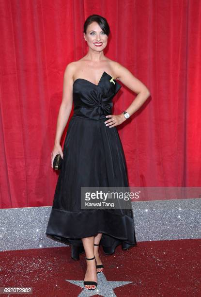 Emma Barton attends the British Soap Awards at The Lowry Theatre on June 3 2017 in Manchester England